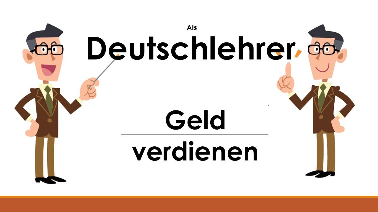 online deutschlehrer so verdienst du online geld damit. Black Bedroom Furniture Sets. Home Design Ideas